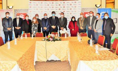 Autoridades firmaron acuerdo de cooperación mutua. Foto: Gentileza