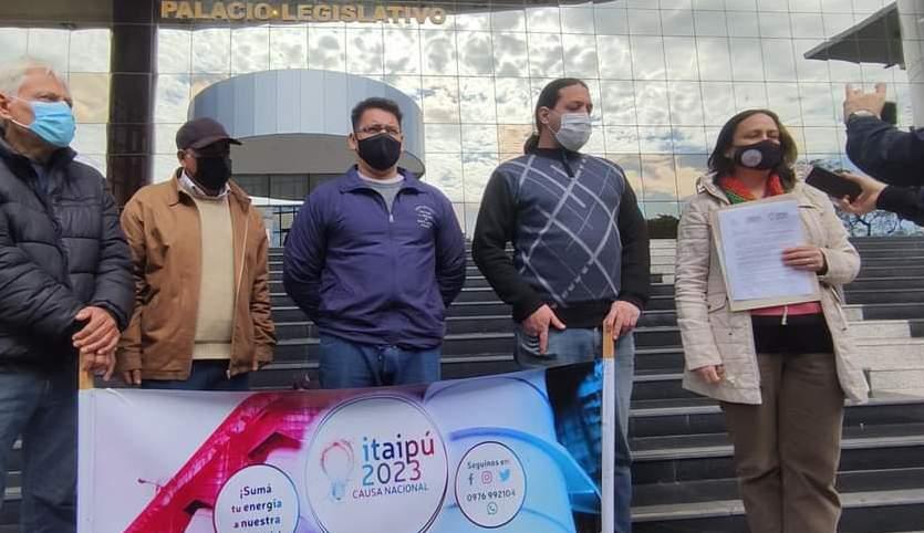 Integrantes de la Campaña Itaipú 2023 (Foto Facebook).