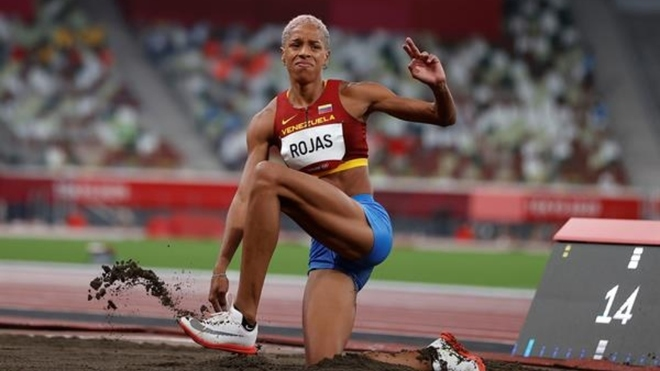 atleta venezolana Yulimar Rojas