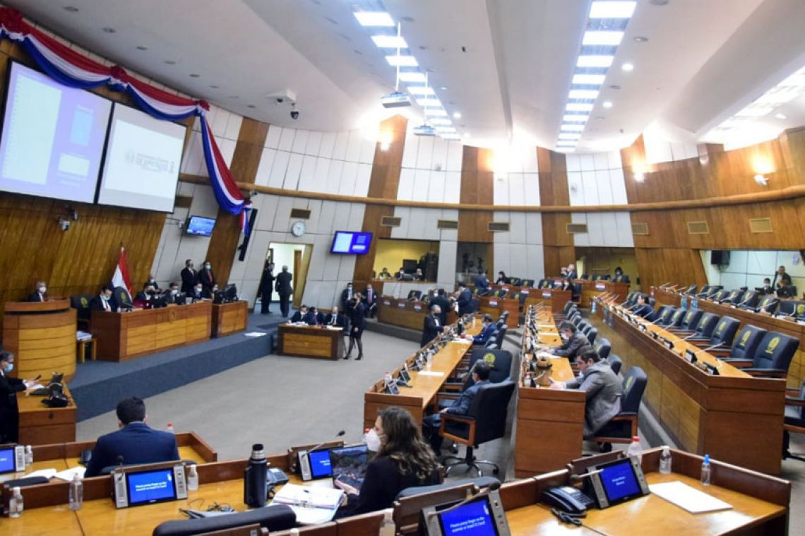 Parlamentarios. (Foto diputados)