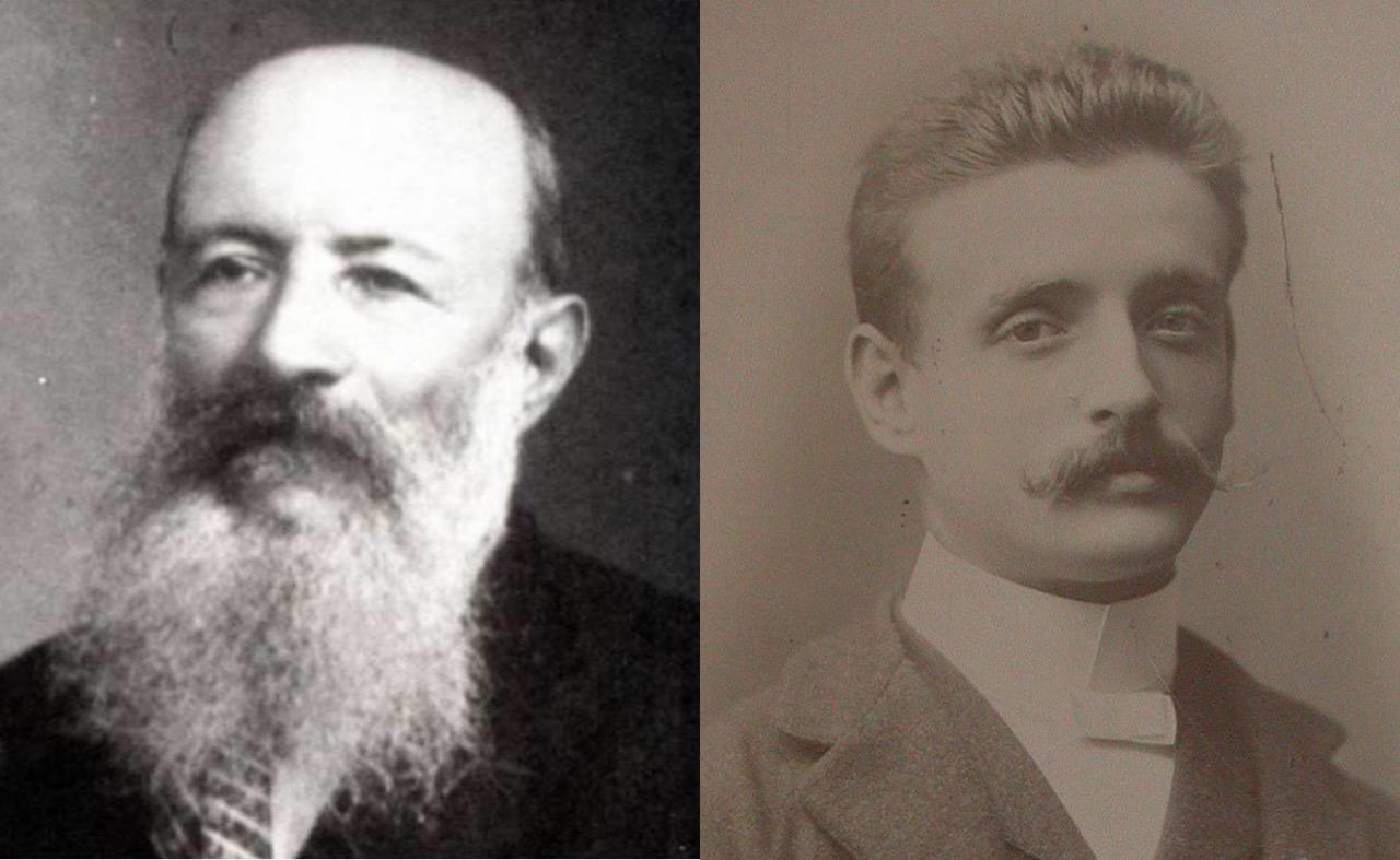 Moisés Bertoni y Guido Boggiani, articulistas frecuentes de la RIP. Archivo