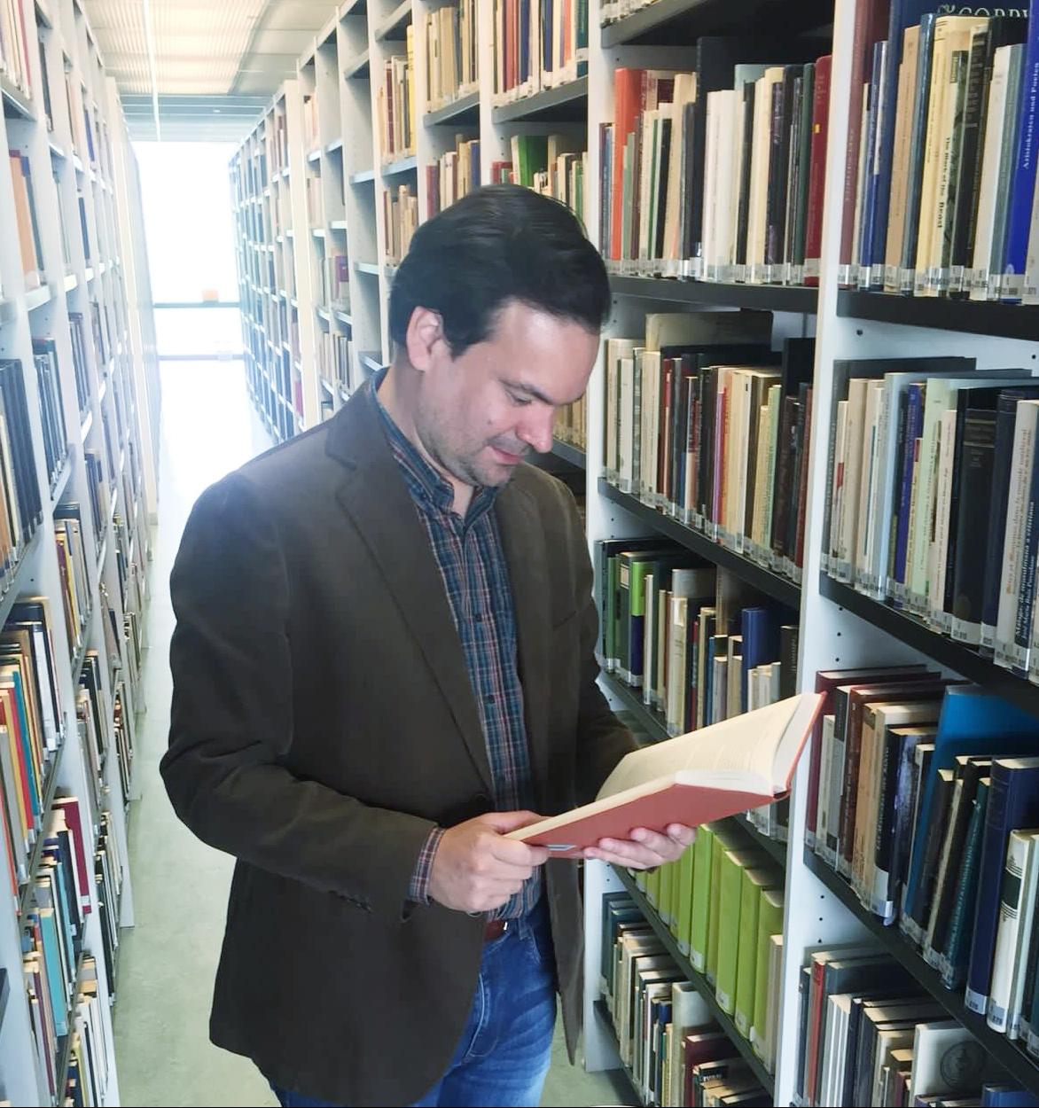 Álvaro González Fretes, historiador. Foto: Gentileza.