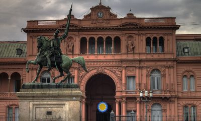 Casa Rosada, en Buenos Aires. Foto: Archivo.