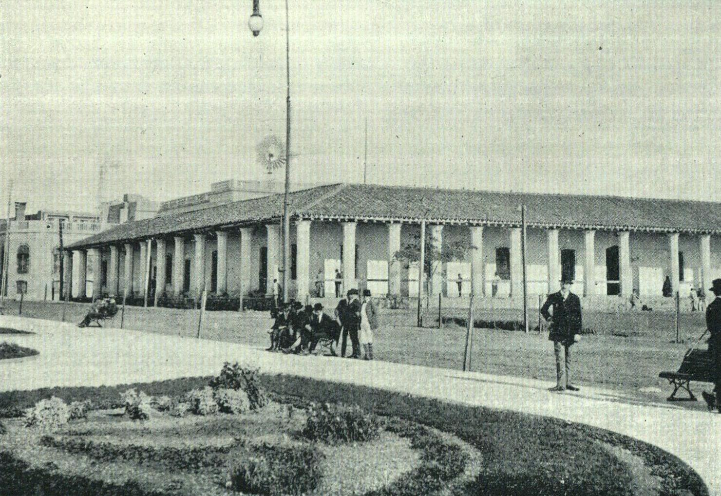 Casa de los Gobernadores. Arsenio López Decoud, Álbum gráfico de la República del Paraguay, Buenos Aires, 1911