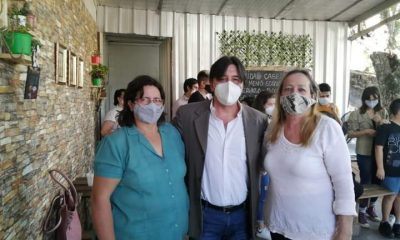 Gustavo Rodriguez, candidato a concejal. (Foto Facebook).