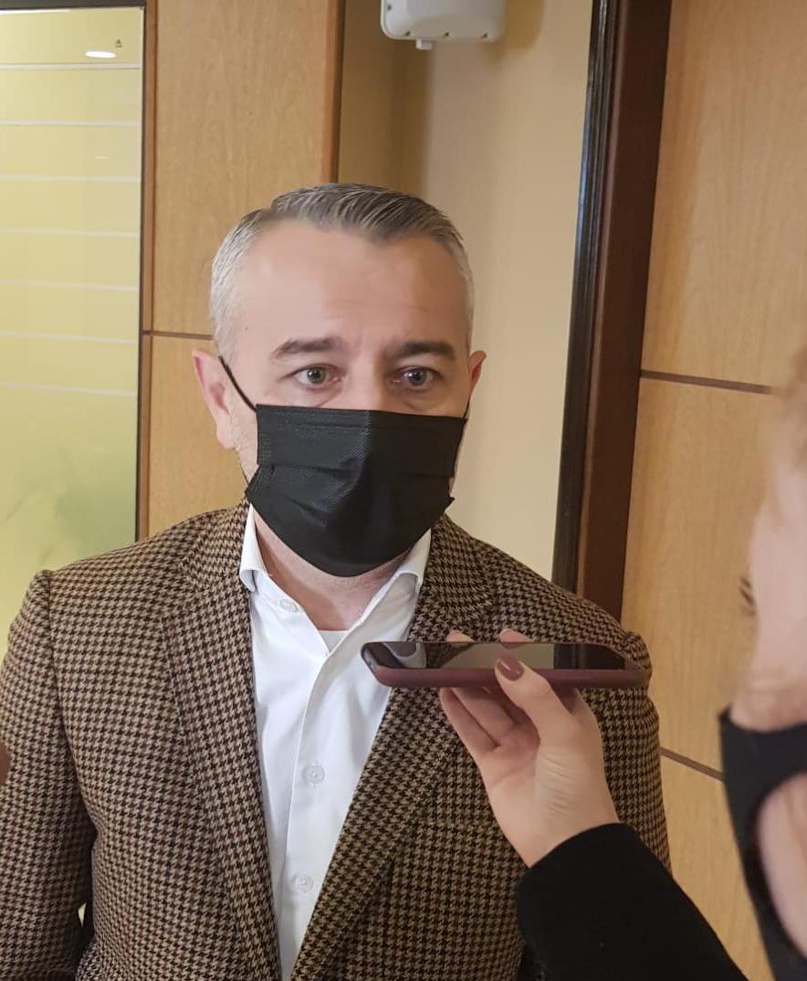 El viceministro de Asuntos Políticos, Daniel Centurión (Foto Senado).