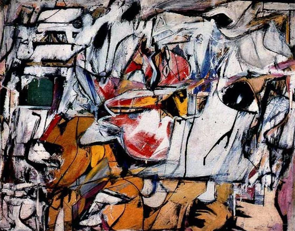 """Willem De Kooning, """"Asheville"""", 1948. Cortesía"""