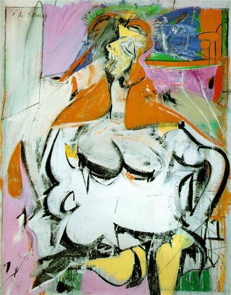 """Willem De Kooning, """"Woman"""", 1949. Cortesía"""