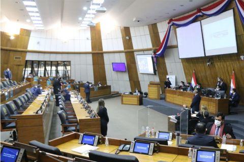 Cámara de Diputados en debate. (Foto Diputados)