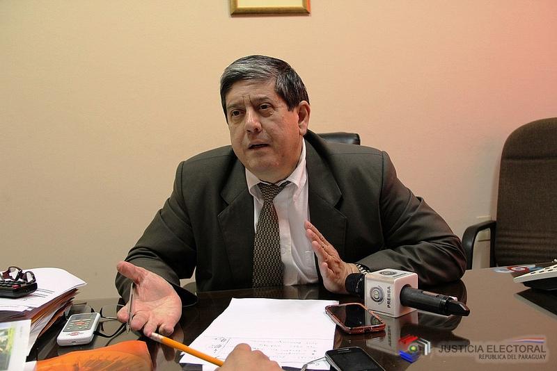 Carlos María Ljubetic, del TSJE. (Foto IP).