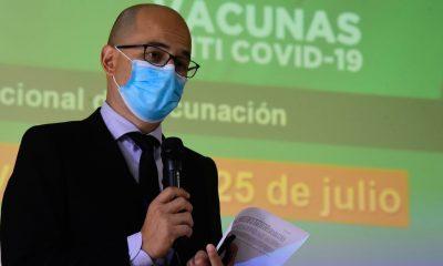 Héctor Castro, director del Programa Ampliado de Inmunizaciones. (Foto Ministerio de Salud).