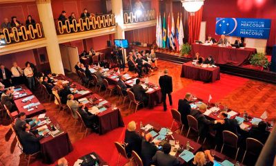 Sesión del Parlamento del Mercosur. Foto: lanacion.com.ar