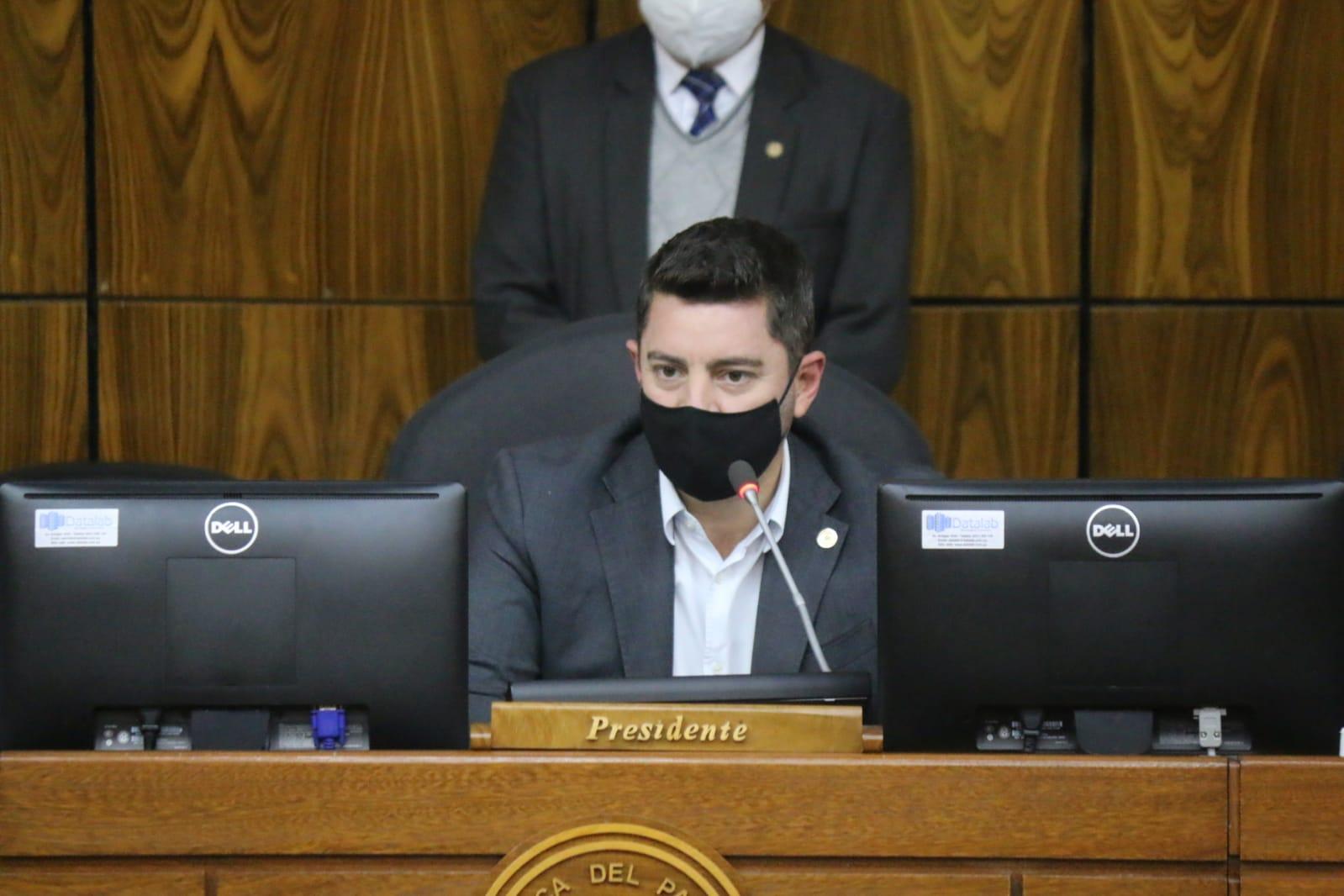 Presidente de la Cámara de Diputados, Pedro Alliana. (Foto Diputados)