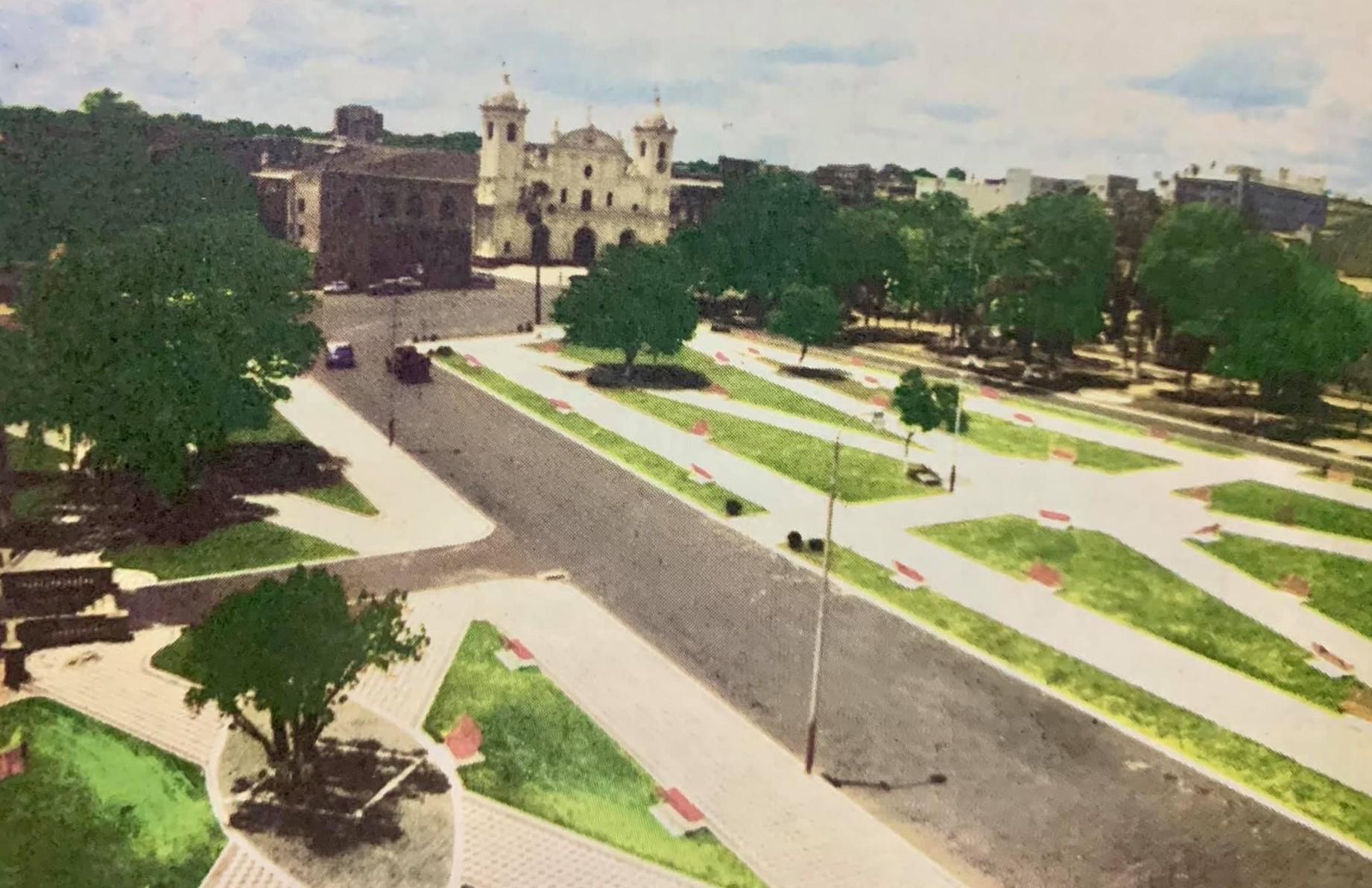 Segunda mitad del siglo XX. Fuente: Historia edilicia de la ciudad de Asunción