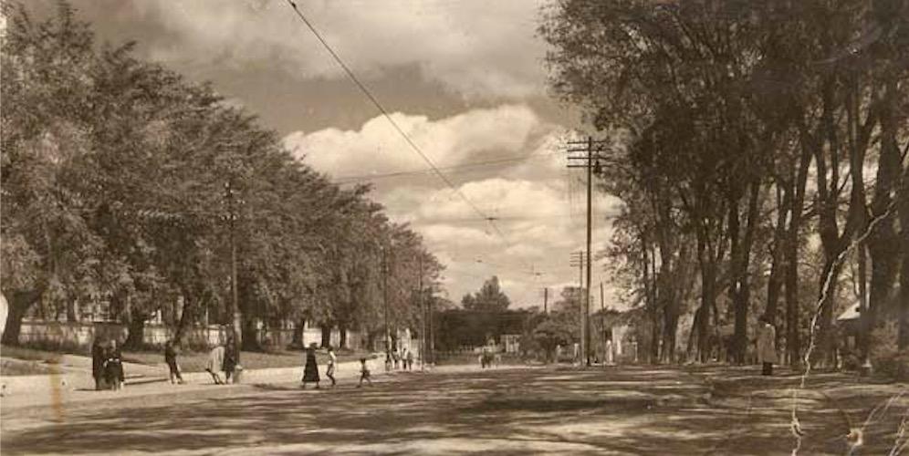 Recoleta, ca. 1930. Hoy Avenida Mariscal López, Asunción. Cortesía
