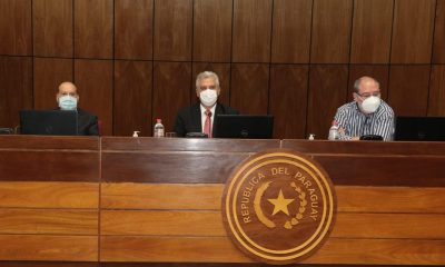 Reunión en la Cámara de Senadores (Foto Senado)