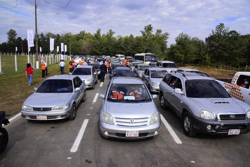 Este sábado en el Autódromo Rubén Dumot. Foto: Salud Pública.