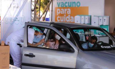 Jornada de vacunación masiva marcó tendencia en redes sociales. Foto: Salud Pública.