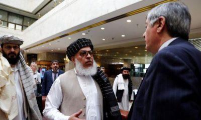 El enviado especial de Rusia para Afganistán (dcha.) ha estado hablando con los líderes talibanes durante algunos años. Foto: Getty.