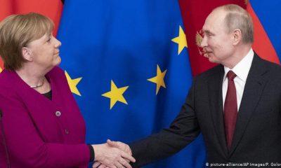 Merkel viajará este viernes a Moscú donde prevé abordar con Putin la situación en Afganistán. Fotoc. Picture Aliance.