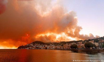 Grecia atraviesa una ola de calor excepcional, con temperaturas que superan los 40 ºC. Foto: Picture Aliance.