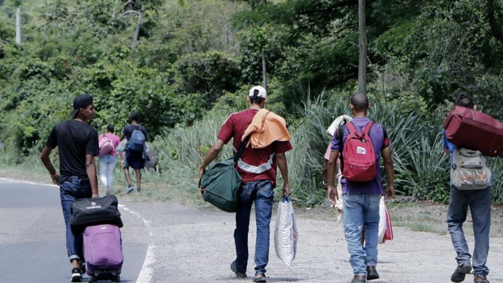 El objetivo es controlar la migración irregular. Foto: Télam.