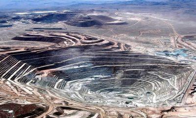 La Escondida, la mayor mina de cobre de Chile y el mundo. Foto: Télam.