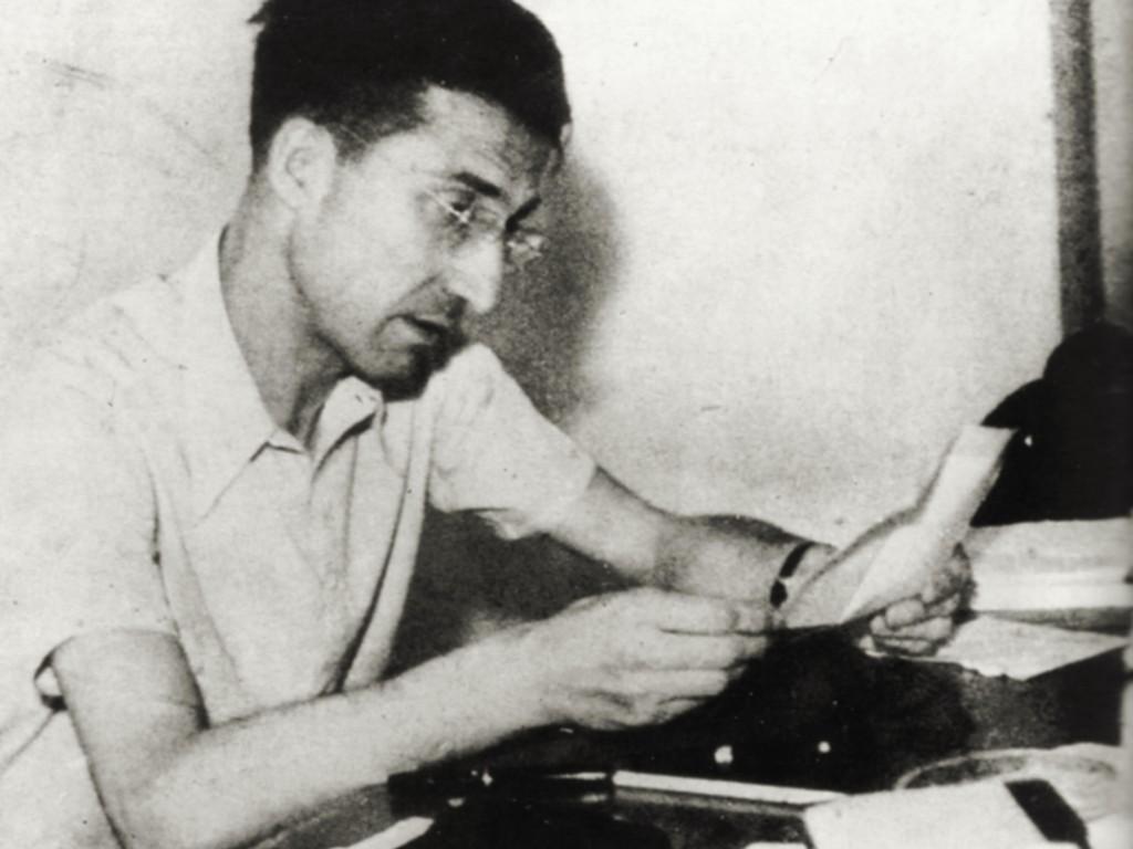 Cesare Pavese. Archivo