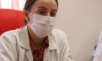 Ovando mencionó que Clínicas no registra paciente covid positivo con la variante Delta. Foto: Gentileza.