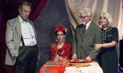Héctor Silva, Jazmín Romero, Gustavo Ilutovich y Chela Villagra. Cortesía.