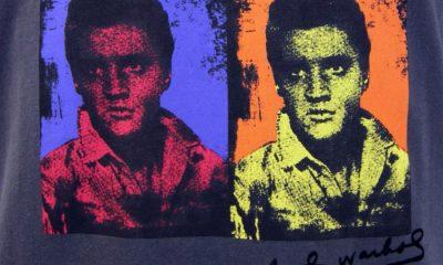 Elvis Presley, versión de Andy Warhol para t-shirt.