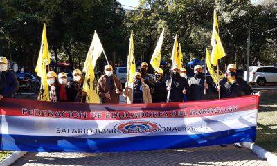 Una de las tantas manifestaciones realizadas por la FEP. (Facebook FEP)