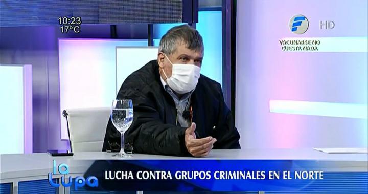 El abogado Felino Amarilla. (Foto captura video).