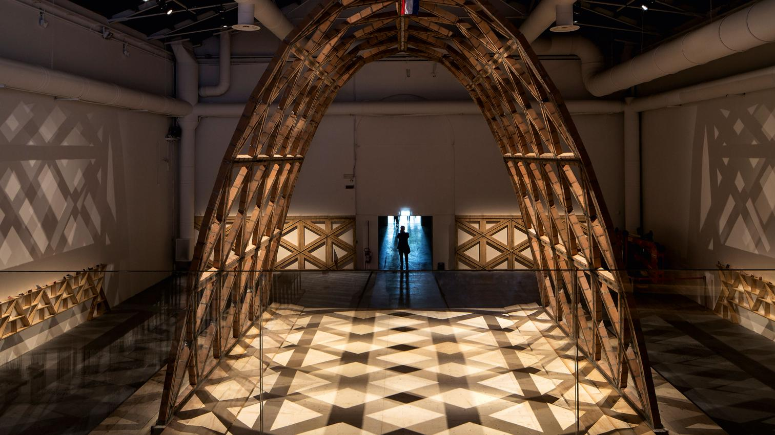 Pabellón de Paraguay en la XIV Bienal de Arquitectura de Venecia, 2016 (Arquitectura Viva)