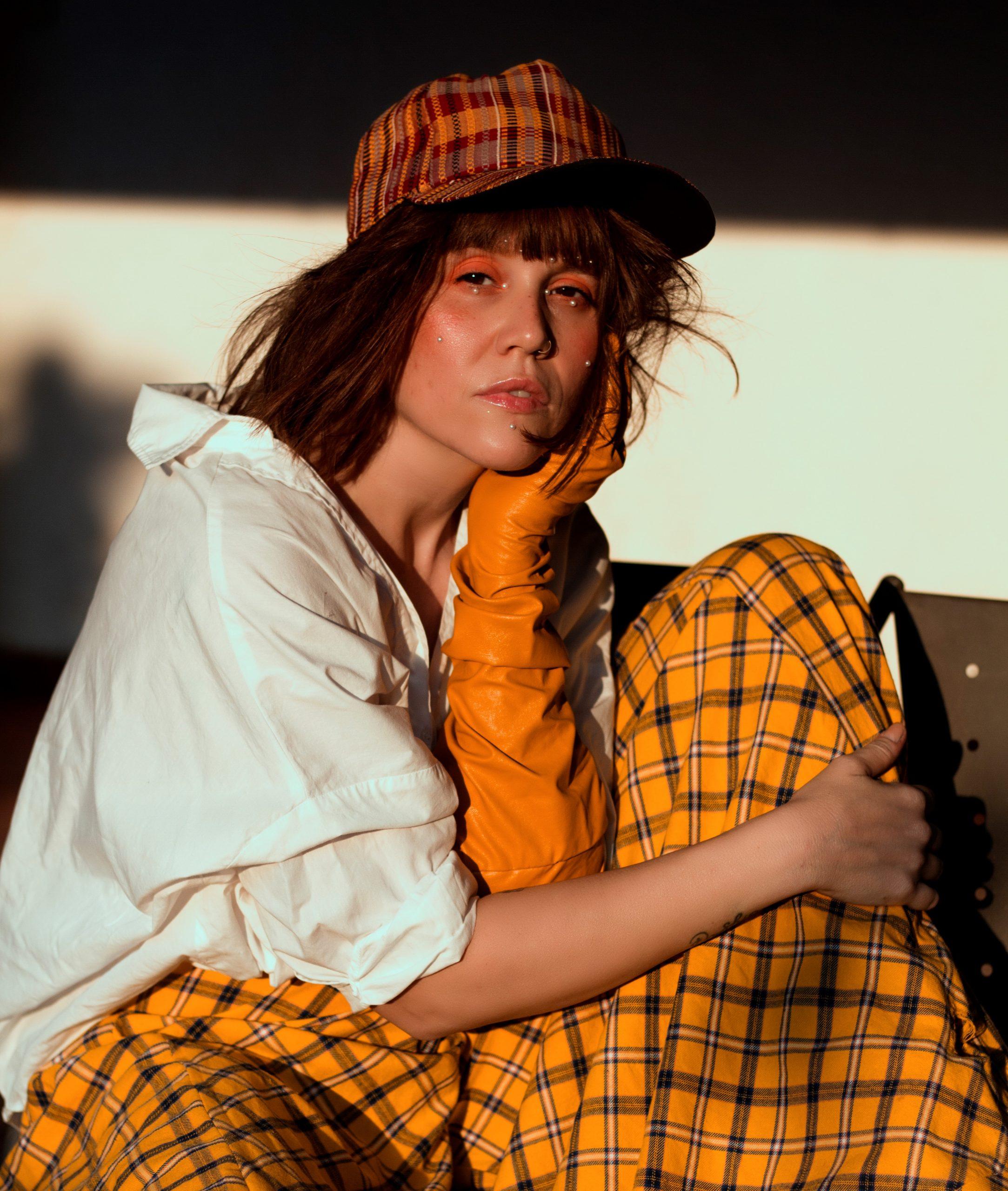 Ofelia Aquino muestra en Dualité su personalidad con cara al futuro. Foto: Gentileza.