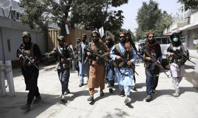 Soldados talibanes en las calles de Kabul. Foto: Agencias.