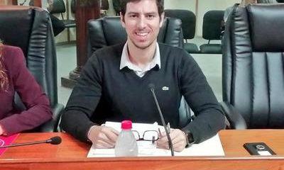 Concejal Alvaro Grau. (Gentileza).