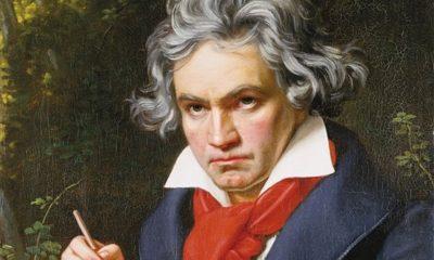 "Joseph Karl Stieler, ""Retrato de Ludwig van Beethoven"" (detalle)"