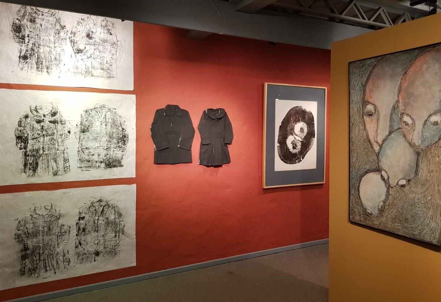 Obras de Claudia Casarino, Edith Jiménez y Olga Blinder. Cortesía CAV/Museo del Barro