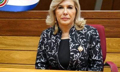 Hermelinda Alvarenga, senadora. (Foto Gentileza).