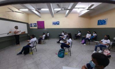 Varias instituciones realizan las clases presenciales. Foto: Ilustrativo.