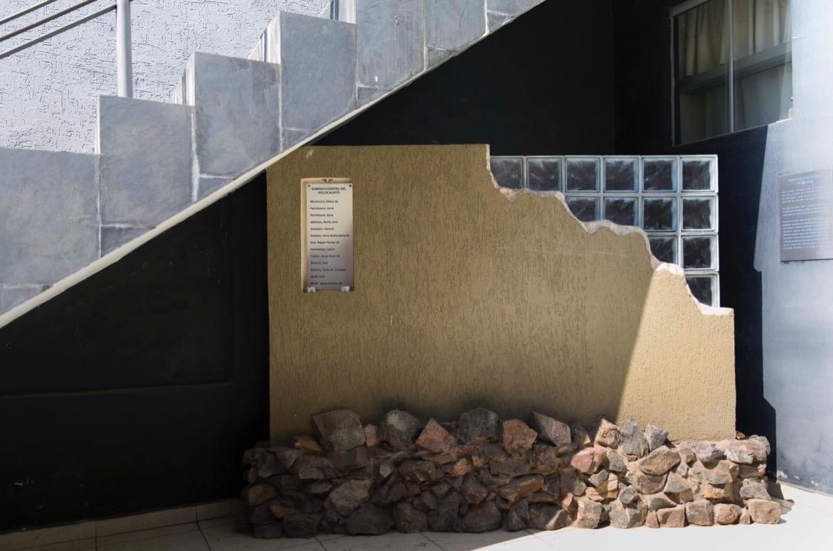 """""""Muro de los sobrevivientes"""" © Laura Mandelik"""