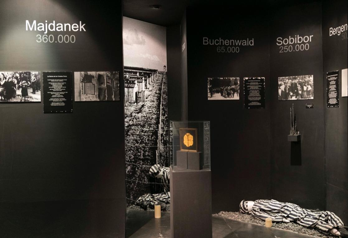 Sala Negra. El horror de los guettos y campos de concentración © Laura Mandelik