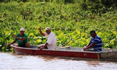 Los pescadores piden subsidio al gobierno. (Foto IP)