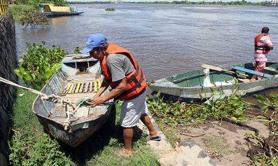 Pescadores sufren la escacez. (Foto IP).
