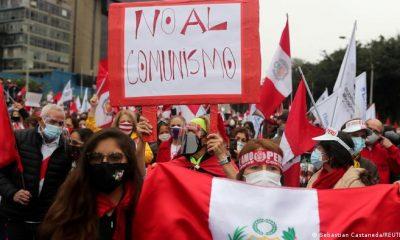 Protestas en Perú. Foto: DW.