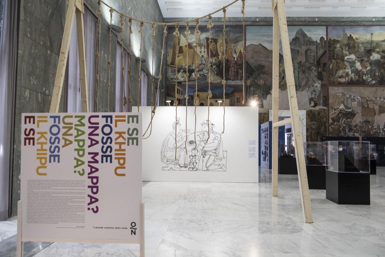 Vista general. Obras de Estefanía Peñafiel Loaiza y Mariano León © CSFAdams