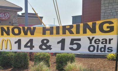 Restaurantes de comida rápida y otros negocios en todo el país están teniendo problemas para llenar sus vacantes. Foto: Getty.