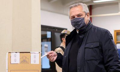 Alberto Fernández. Foto: EPA.