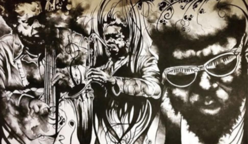 Vero Sforza. Murales en Mburucujazz. FB